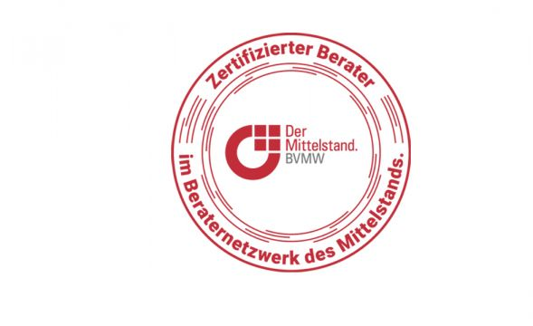 """DDVC nun auch """"Zertifizierter Berater im Beraternetzwerk des Mittelstands""""!"""
