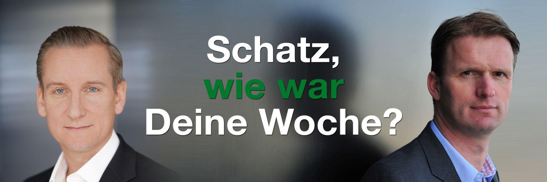 Schatz, wie war deine Woche: Fragenpodcast
